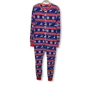 URBAN HERITAGE Reindeer Snowflakes Onesie Pyjamas